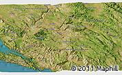 Satellite 3D Map of Ljubuški