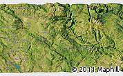 Satellite 3D Map of Bileća