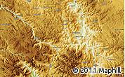 Physical Map of Babljak