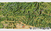 """Satellite 3D Map of the area around 43°1'43""""N,1°37'30""""W"""