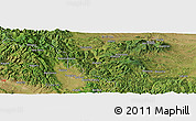 "Satellite Panoramic Map of the area around 43° 1' 43"" N, 21° 19' 30"" E"