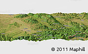 Satellite Panoramic Map of Sopot