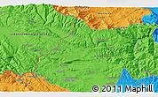 Political 3D Map of Gabrovnitsa