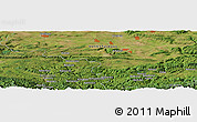 Satellite Panoramic Map of Tsinga