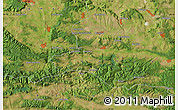 "Satellite Map of the area around 43°1'43""N,27°16'29""E"