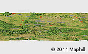 Satellite Panoramic Map of Kamenyak