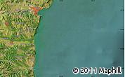 Satellite Map of Varna