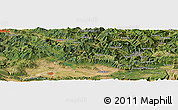 Satellite Panoramic Map of Hernialde