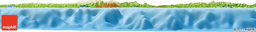 Physical Horizon Map of Ceyreste