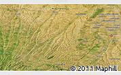 Satellite 3D Map of Frouzins