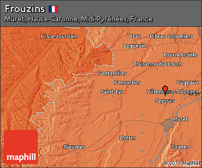 Political Map of Frouzins