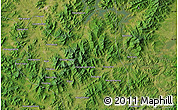 "Satellite Map of the area around 43°27'40""N,126°43'29""E"