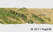 "Satellite Panoramic Map of the area around 43°27'40""N,12°49'29""E"