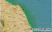 Satellite Map of Ancona