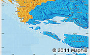 Political Map of Trogir