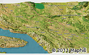 Satellite 3D Map of Makarska