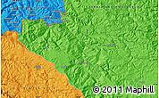 Political Map of Pljevlja