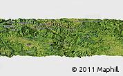 "Satellite Panoramic Map of the area around 43°27'40""N,19°37'30""E"