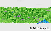"""Political Panoramic Map of the area around 43°27'40""""N,20°28'30""""E"""