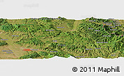 "Satellite Panoramic Map of the area around 43° 27' 40"" N, 22° 10' 29"" E"