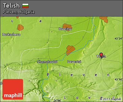 Physical Map of Telish