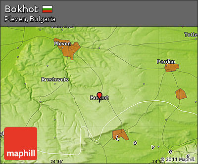 Physical Map of Bokhot