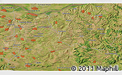 """Satellite 3D Map of the area around 43°27'40""""N,25°34'30""""E"""