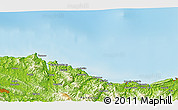 Physical 3D Map of Zumaia