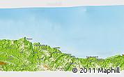 Physical 3D Map of Usúrbil