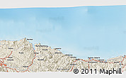 Shaded Relief 3D Map of Zumaia