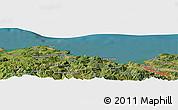 "Satellite Panoramic Map of the area around 43°27'40""N,3°19'30""W"