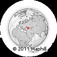 Outline Map of Sochi, rectangular outline