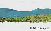 Satellite Panoramic Map of Santander