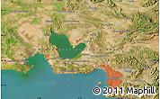 Satellite Map of Marseille