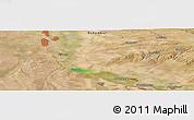 "Satellite Panoramic Map of the area around 43°27'40""N,74°1'30""E"