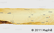 "Physical Panoramic Map of the area around 43° 27' 40"" N, 75° 43' 29"" E"