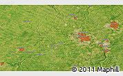 """Satellite 3D Map of the area around 43°27'40""""N,80°40'30""""W"""