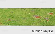 "Satellite Panoramic Map of the area around 43°27'40""N,80°40'30""W"