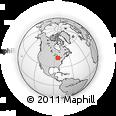 Outline Map of 10133 Fulmer Rd, rectangular outline