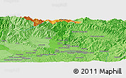 """Political Panoramic Map of the area around 43°53'30""""N,11°7'30""""E"""