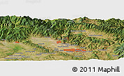 "Satellite Panoramic Map of the area around 43°53'30""N,11°7'30""E"