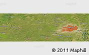 Satellite Panoramic Map of Changchun