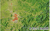 Satellite Map of Jilin