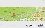 Physical Panoramic Map of Jilin