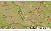 Satellite 3D Map of Vădăstriţa