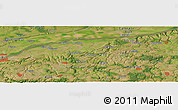 "Satellite Panoramic Map of the area around 43° 53' 30"" N, 26° 25' 29"" E"