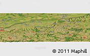 Satellite Panoramic Map of Tutrakan