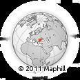 Outline Map of Vila Panos, rectangular outline