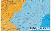 Political Map of Nîmes