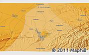 Political 3D Map of Miquan